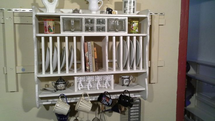 Küchenregal, Tellerregal von Ansolece