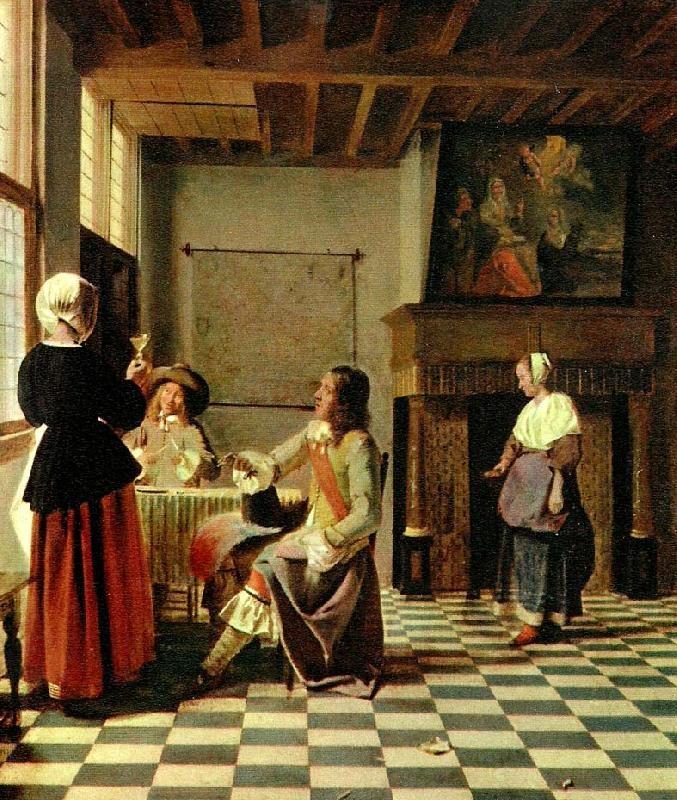 Pieter de Hooch...a Dutch Interior