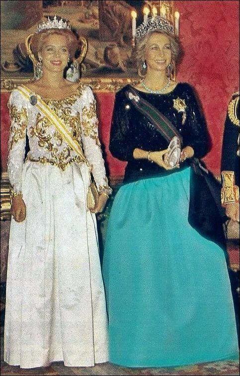 Reina Sofia de España & Reina Noor de Jordania.