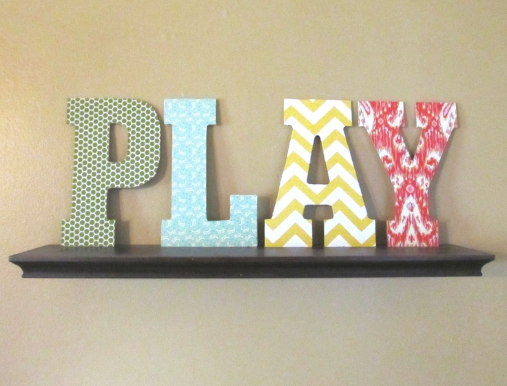 Bedroom Decor Letters 143 best wooden word ideas images on pinterest | wooden letters