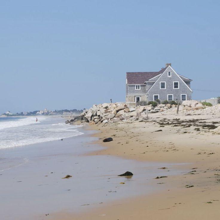 Beach house at Misquamicut Beach, Rhode Island