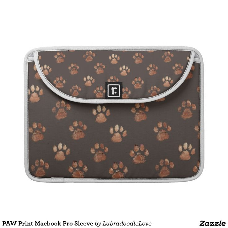 PAW Print Macbook Pro Sleeve