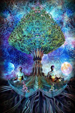 Balance – Third Eye Tapestries – Sacred Geometry
