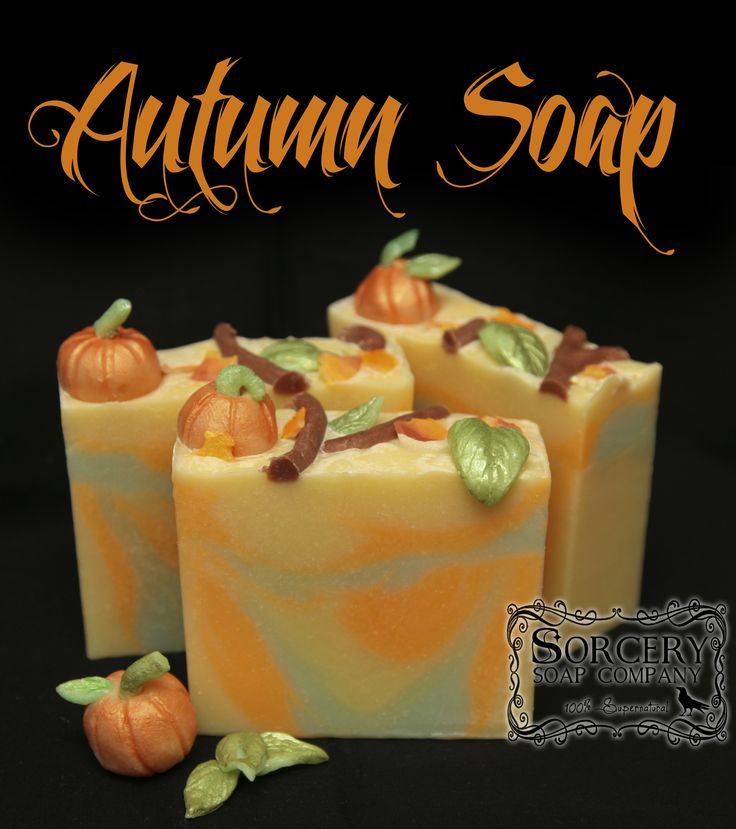 What is your favorite Fall scent? Autumn Soap, scented with Blue What is your…
