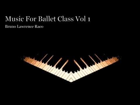 Ballet Class Music CD Starts with a beautiful adagio!