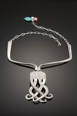 Ideas for Jewelry Made From Silverware   Handmade Jewlery, Bags, Clothing, Art, Crafts, Craft Ideas, Crafting Blog @georgia lin. Martin... This is a neat idea with silverware!