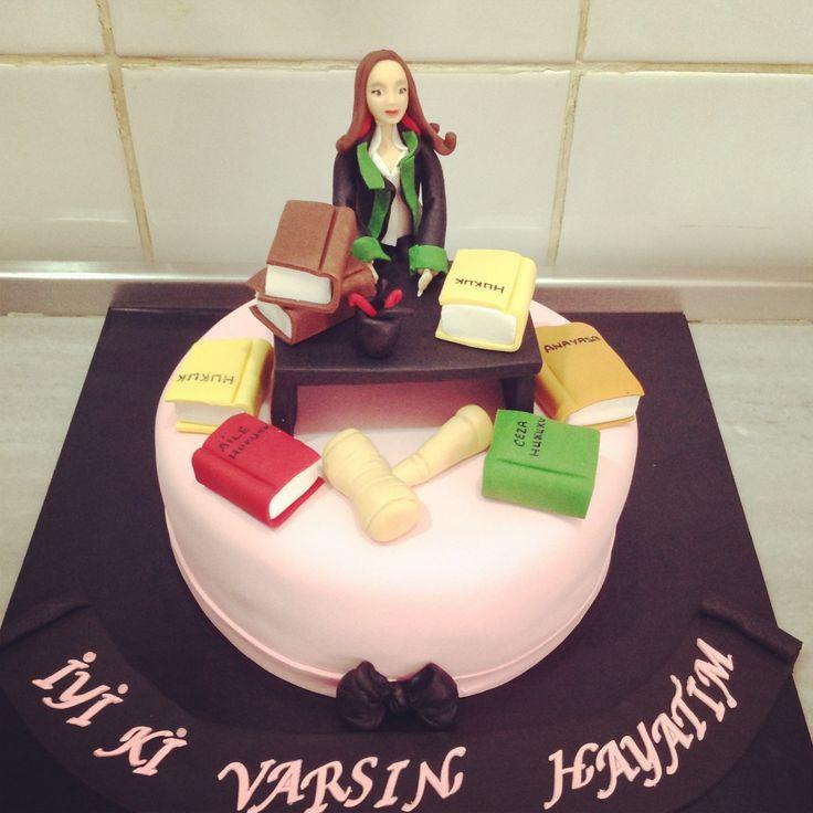 Muskat Patisserie #cake #birthday #lawyer #law #sugar #sugarpaste #book