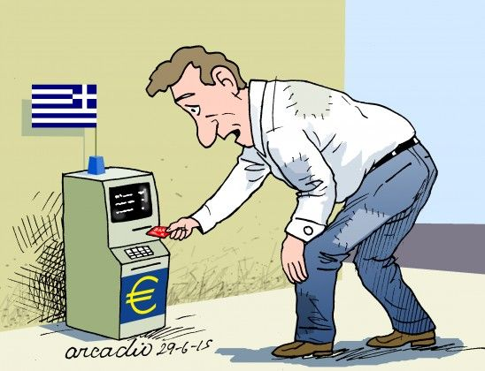 A Crise... Os Bancos... Os Gregos...