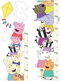 Peppa Pig Self-Adhesive Height Chart | Kids Character Clothing, Bedding and Accessories | Cooldudes Kids Australia