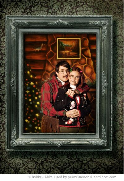 Great Ideas for Funny Holiday Cards! We love Bobbi & Mike. They crack us up! #Christmas