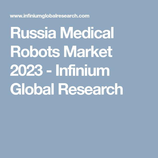 Russia Medical Robots Market 2023 - Infinium Global Research