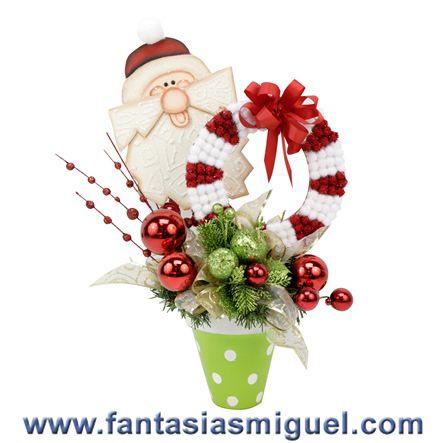 Navidad - Adornos Y Muñecos - Como Hacer Manualidades - Ideas - Fantasias Miguel