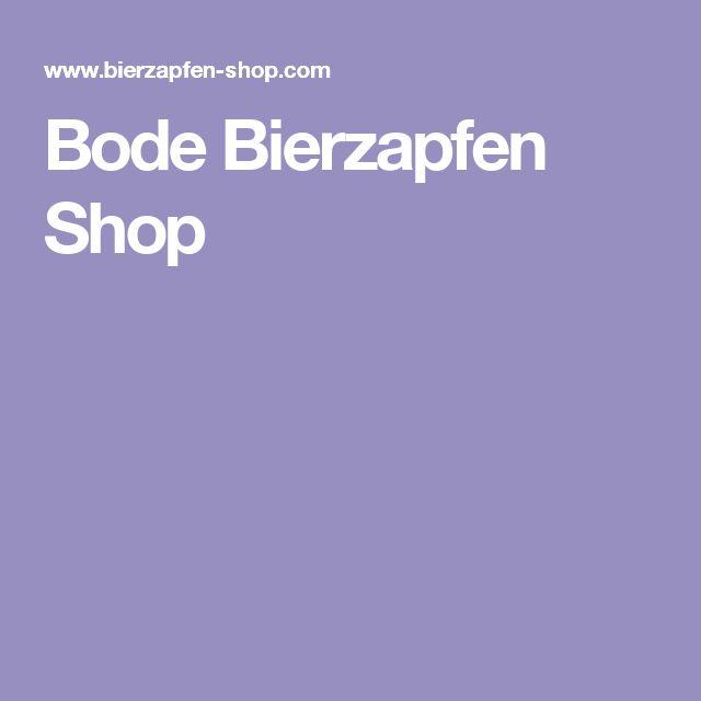Bode Bierzapfen Shop
