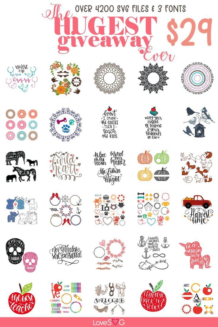 Pin on Free Mandala & Monograms SVG Cut File