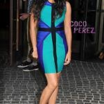 Camila Alves Wears An Optical Illusion Bandage Dress   (I need a dress like this - the model is pregnant and doesn't even look it!)