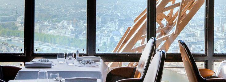Le Jules Verne : restaurant de la Tour Eiffel à Paris | Alain Ducasse