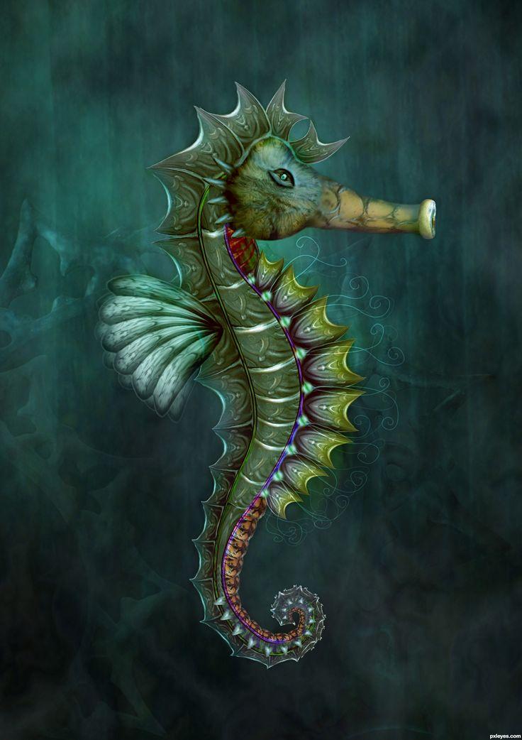 seahorse  | Sea Horse picture, by CorneliaMladenova for: knocker photoshop contest ...