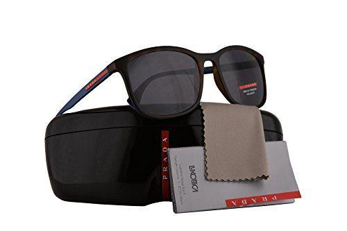 5596c6eec6a14 Prada PS01TS Sunglasses Havana Rubber w Polarized Grey 56mm Lens U61144  SPS01T PS 01TS SPS 01T