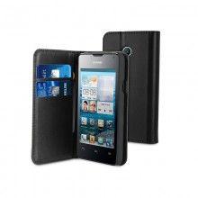 Forro Book Huawei Ascend Y330 Muvit Slim Folio Negra $ 46.500,00