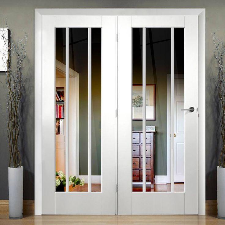 Easi-Frame White Door Set GWPWOR-COEOP39L 2005mm Height 1660mm Wide & 10 best lounge doors images on Pinterest | Room iders Door sets ...