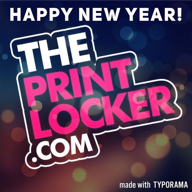 Happy New Year from all of us at #theprintlocker  back to business as usual from tomorrow! #print #decals #embroidery #workwear #stickers #vinyldecals #embroideredworkwear #printing #banners #signs #vehiclegraphics #personalisation #mugs #keyrings #stationery #vinyl #printit #stickit #stitchit #createsomethingamazing #malvern #worcestershire #uk