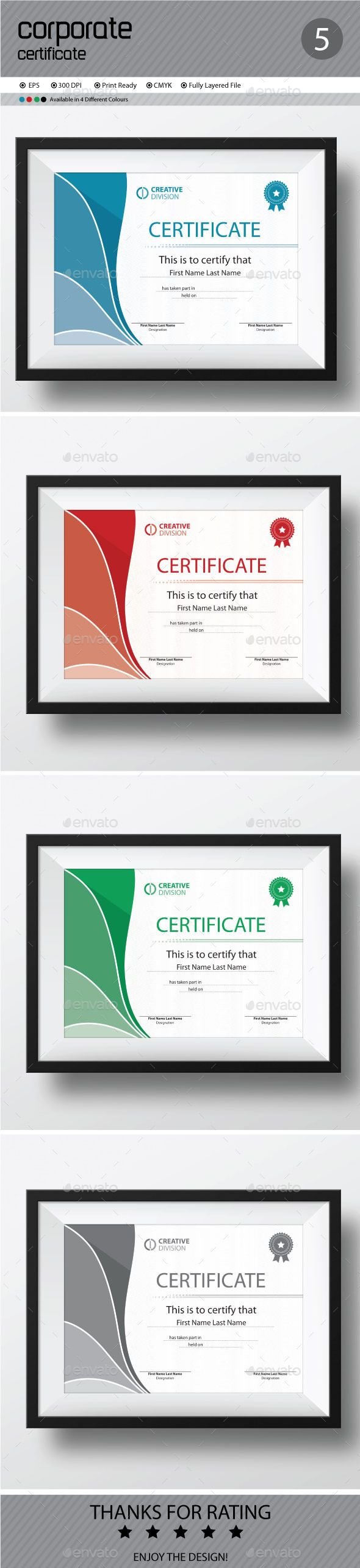 Certificate Template Vector EPS. Download here: http://graphicriver.net/item/certificate/11642855?ref=ksioks
