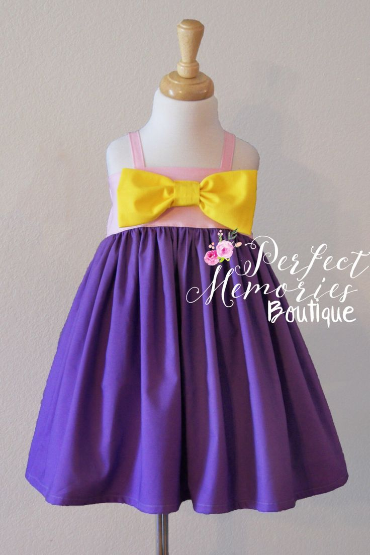 Rapunzel Dress, Rapunzel Princess, Girls Dress, Toddler Girls Dress, Rapunzel Birthday Party, Princess Dress, Princess Party by ThePMB on Etsy https://www.etsy.com/listing/279184792/rapunzel-dress-rapunzel-princess-girls