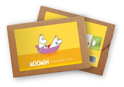 Pack of 6 Postcards Moomin by Tove Jansson   on StarEditions.com - Wholesale Prints