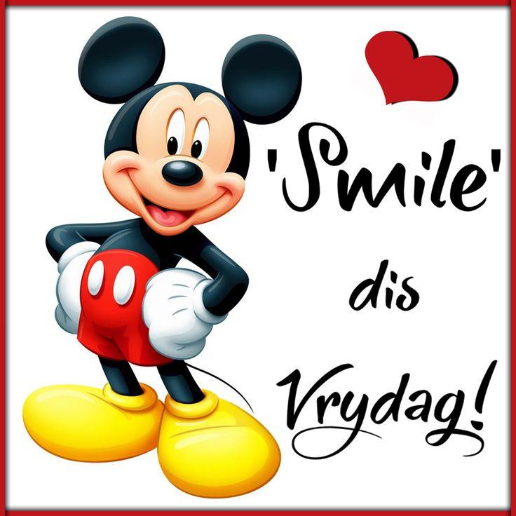 'Smile' dis Vrydag!