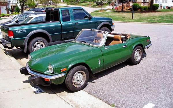 Cheap And Cheerful:  1976 Triumph Spitfire 1500 - http://barnfinds.com/cheap-and-cheerful-1976-triumph-spitfire-1500/