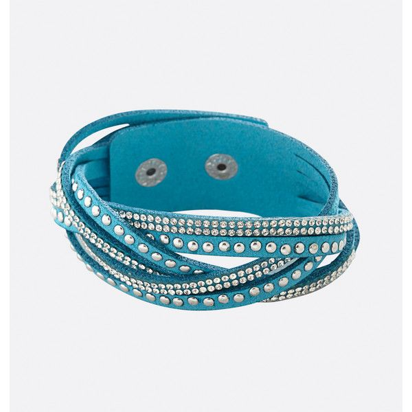 Avenue Turquoise Braided Studded Cuff Bracelet ($14) ❤ liked on Polyvore featuring jewelry, bracelets, blue sea, plus size, fake jewelry, hinged cuff bracelet, turquoise jewellery, cuff bracelet and studded jewelry