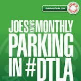 Joe's Auto Parks offers monthly parking service in two convenient monthly payment options at most locations in Downtown Los Angeles for frequent parkers. This is most convenient parking plan.