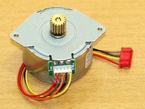 El control de motor paso a paso con un puerto paralelo