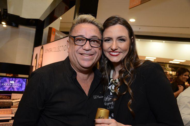 Gil Marciano e Luciane Starling