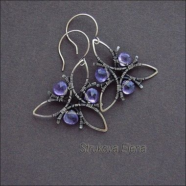 Wirework earrings - Original design!!