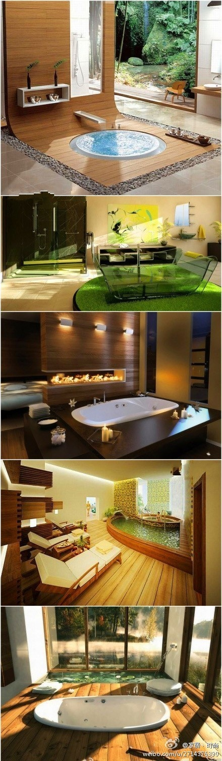 can't decide which I like more.  I guess thats why you need more than one bathroom