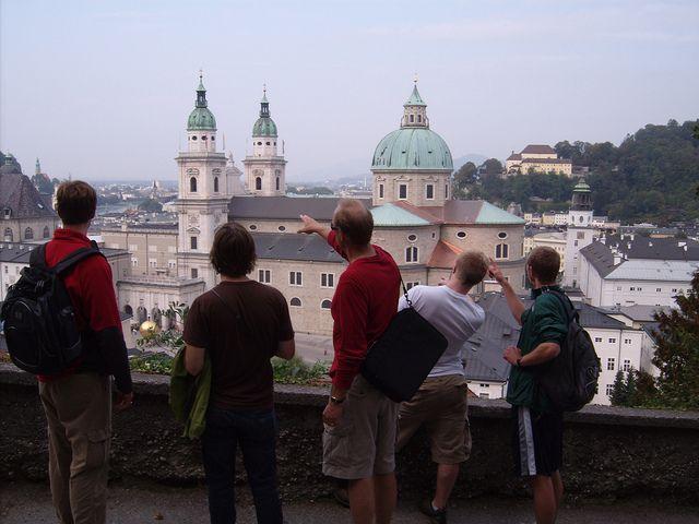 Photos of and around Salzburg