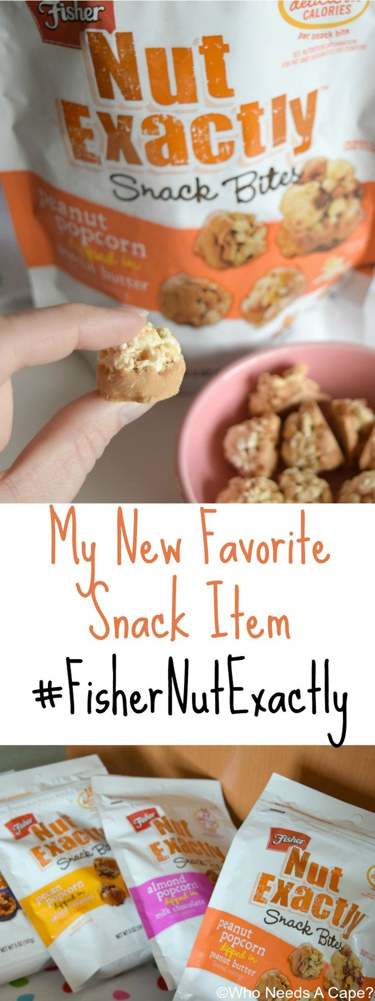 My New Favorite Snack Item comes in a variety of flavors. Fisher Nut Exactly® has a flavor for everyone and they are delish! [ad] #FisherNutExactly