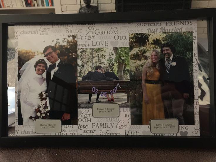 Parent wedding photos