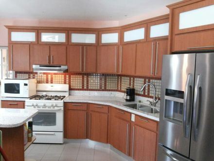 Fotos de gabinetes de cocina hechos en pvc Bayamón