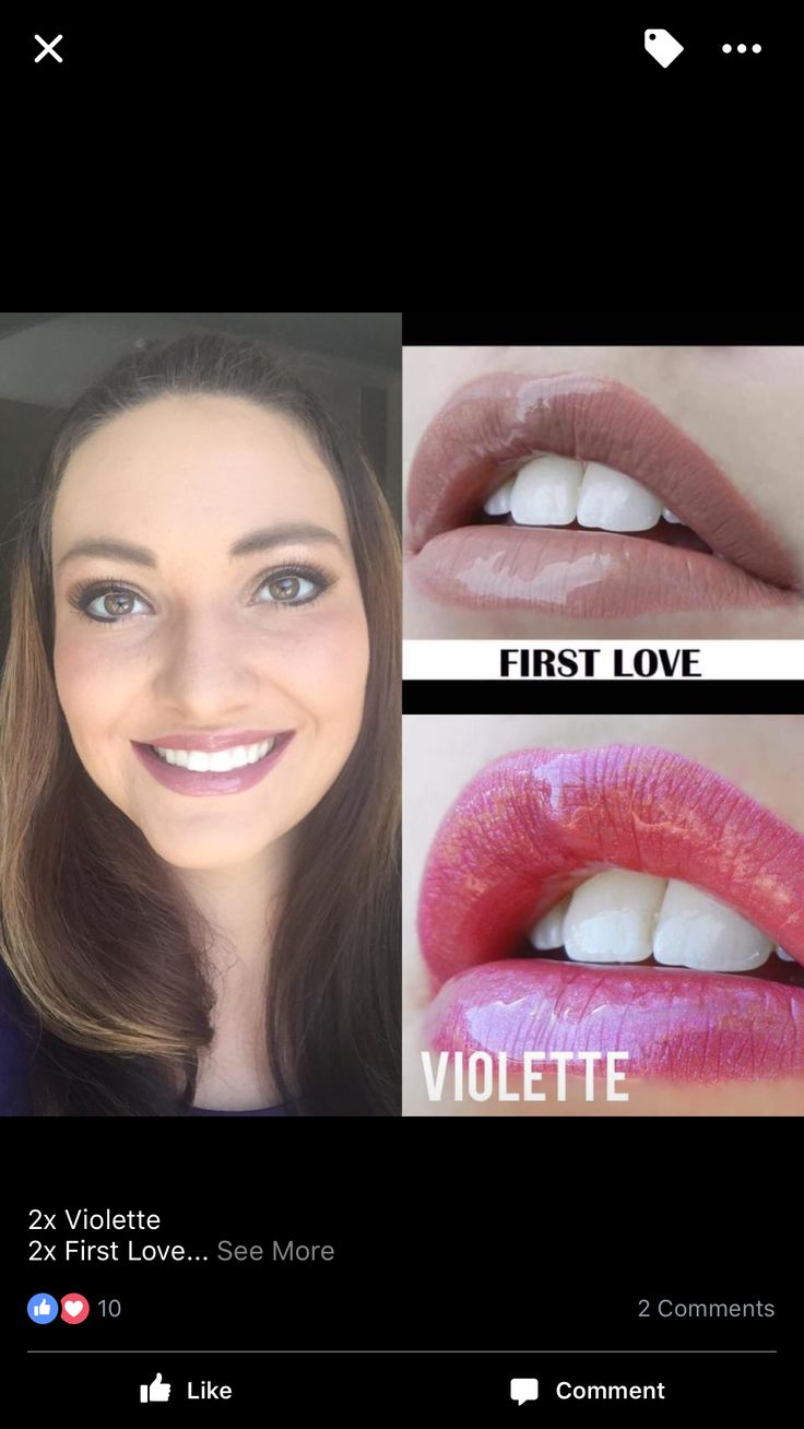 First Love Rewriting And Major Editing: Violette First Love Glossy Gloss