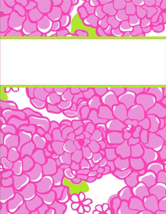 binder covers17 http://happilyhope.wordpress.com/2013/07/25/my-cute-binder-covers/