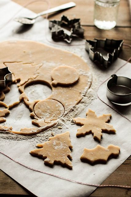One of my favorite parts of the holidays is making Christmas cookies.