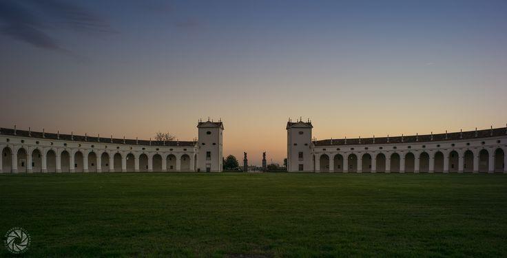 The Exedra of Villa Manin