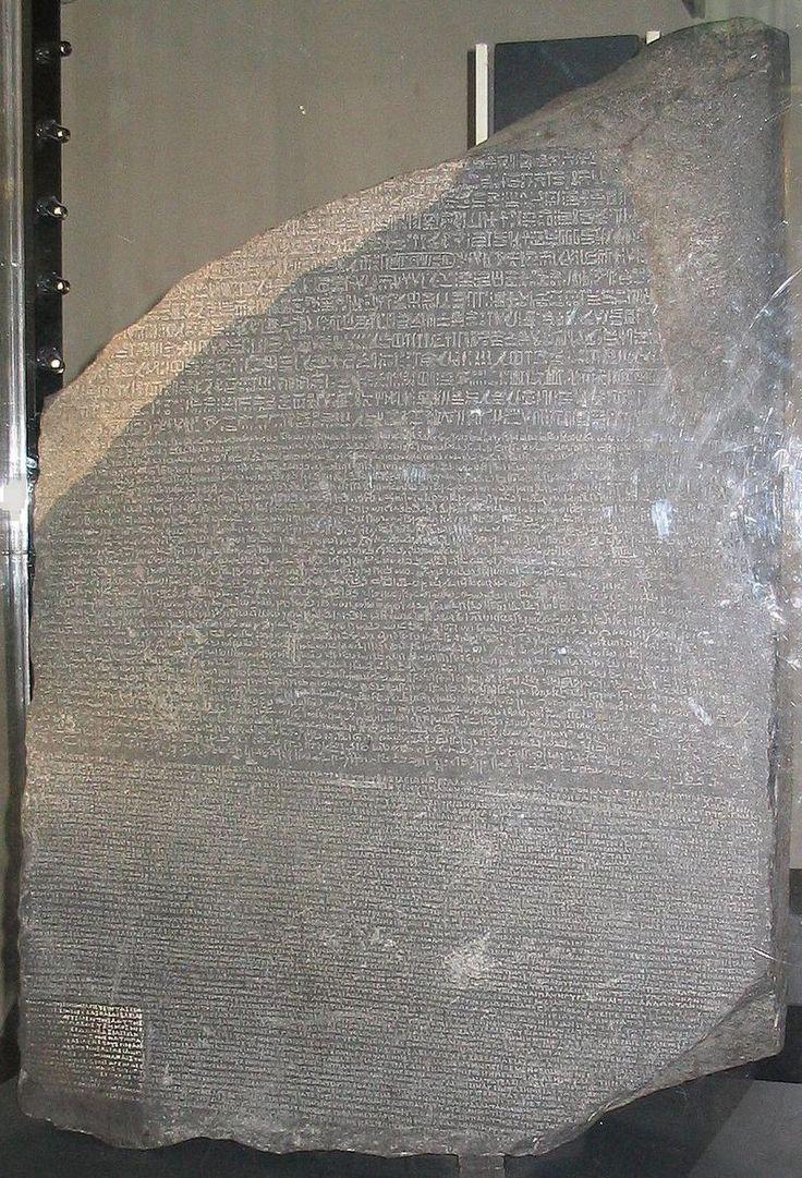 Des lettres az coloriage xpx coloriage enluminure lettre v page 2 car - La Pierre De Rosette Est Un Fragment De St Le Grav E De L Gypte Antique De