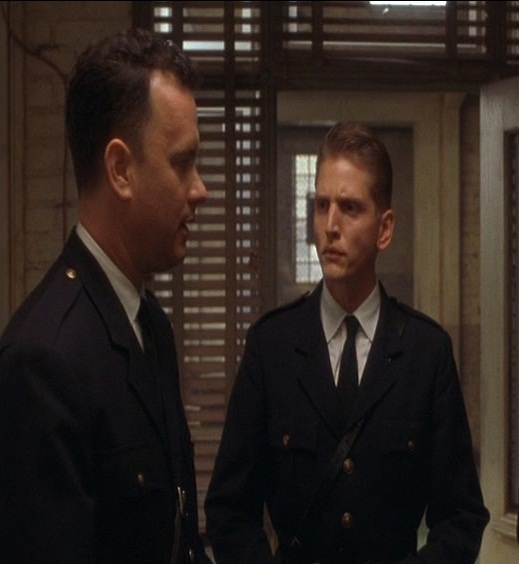 best the green mile images movie tv movies and  tom hanks barry pepper in one of the scenes in the green mile