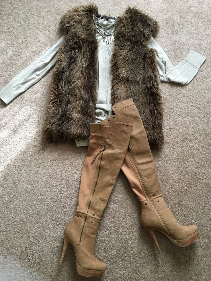 BNWT Zara Basic Brown Faux Fur Vest Size Medium | eBay