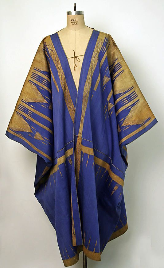 Aba Date: 19th century Culture: Syrian Medium: silk