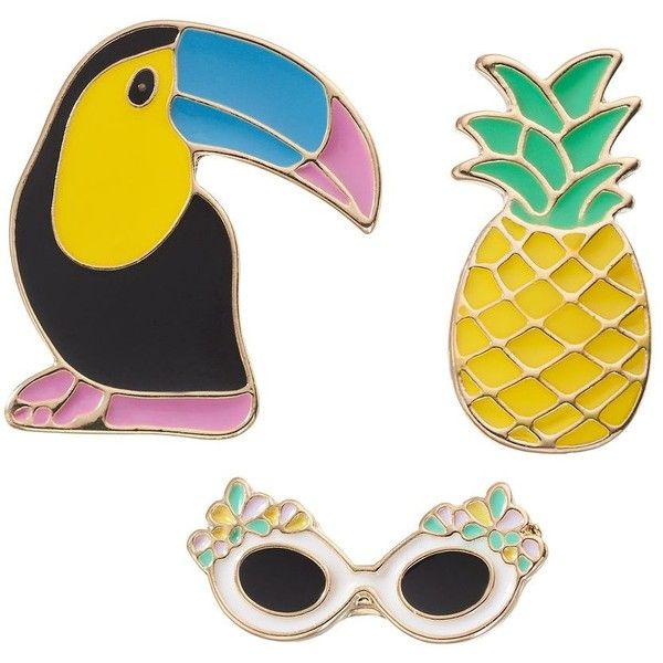 LC Lauren Conrad Toucan ($13) ❤ liked on Polyvore featuring accessories, multicolor and lc lauren conrad