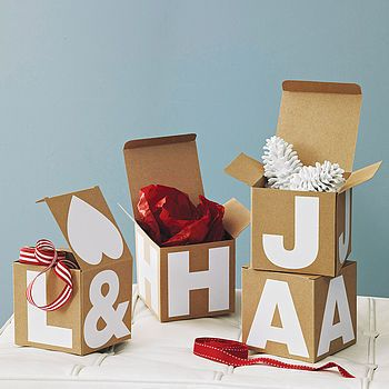 Alphabet Gift Box by The Letteroom